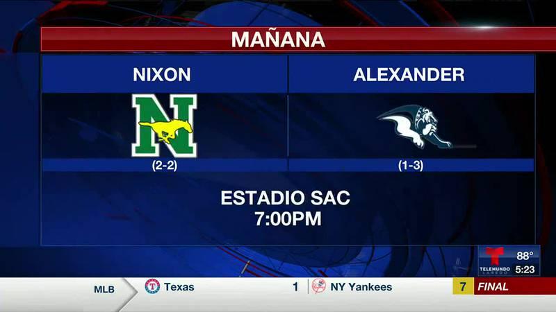 Alexander Bulldogs vs Nixon Mustangs