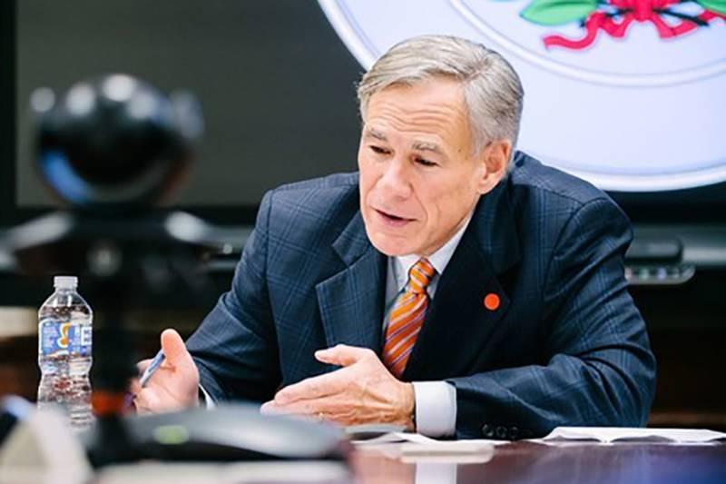 Gobernador de Texas Greg Abbott.
