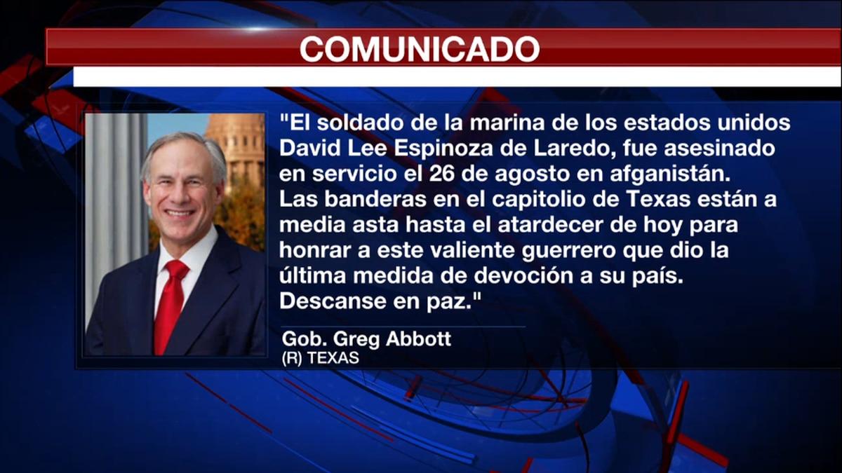 Mensaje del Gobernador de Texas